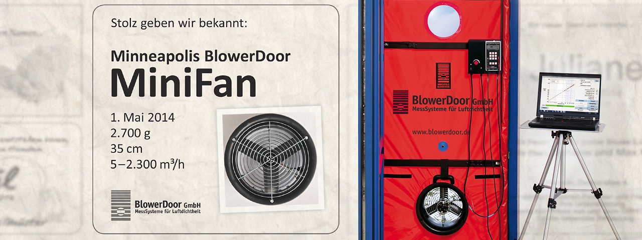 Minneapolis BlowerDoor MiniFan