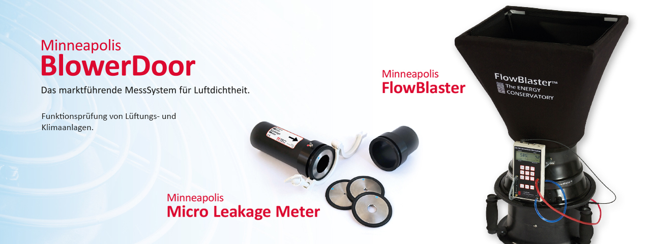 Minneapolis Micro Leakage Meter & Minneapolis FlowBlaster